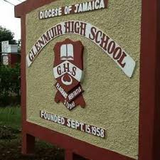 Glenmuir High School Sign