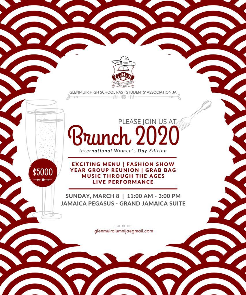 GHSPSA Brunch 2020 Flyer