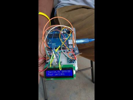 UWI Student Develops Healthcare Gadget