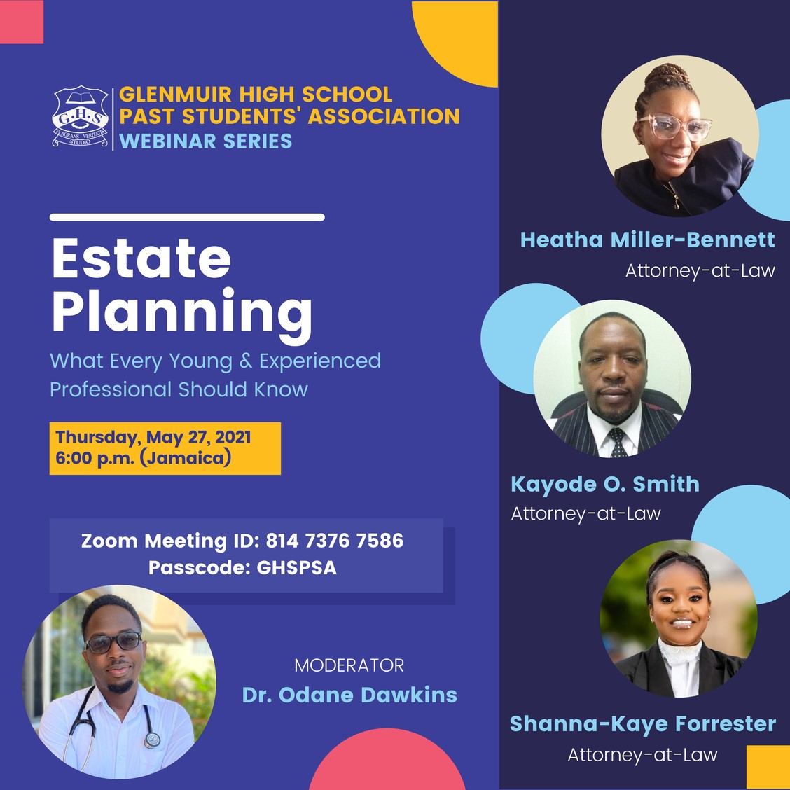 Estate Planning - What Every Young & Experienced Professional Should Know
